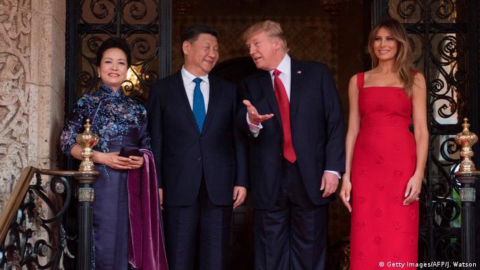 USA China - Trump trifft Xi