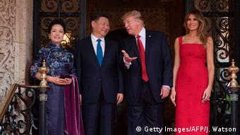 USA China - Trump trifft Xi (Getty Images/AFP/J. Watson)