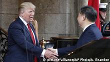 USA China- Trump trifft Xi