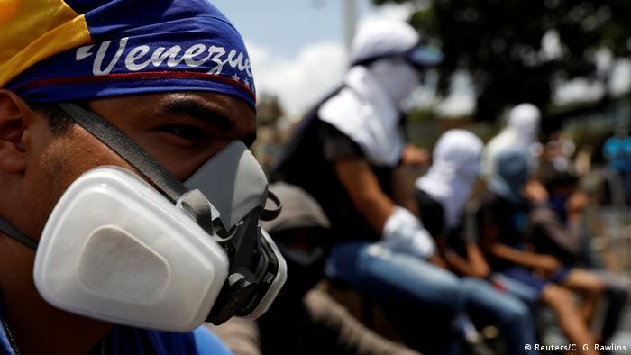 Venezuela Caracas Demonstrationen gegen Präsident Maduro