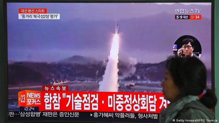 Nordkorea Raketentest (Getty Images/AFP/J. Yeon-Je)