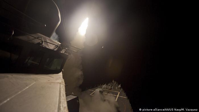 Запуск ракеты Tomahawk
