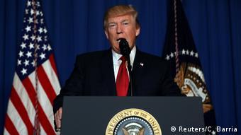 USA Statement Donald Trump zum Luftangriff auf Syrien