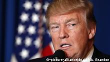 USA Trump zu Angriff in Syrien