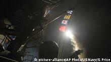 Syrien USA Luftangriff auf Militärbasis