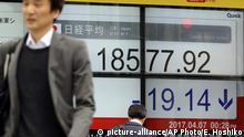 Japan Börseneinbruch