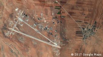 Syrien Luftwaffenbasis Al-Schairat