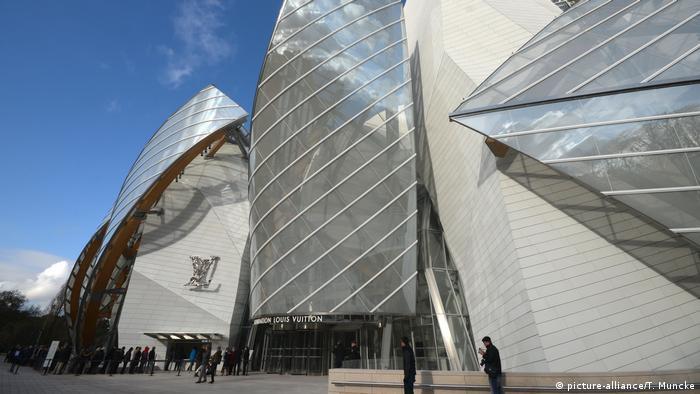 Fundação Louis Vuitton, em Paris