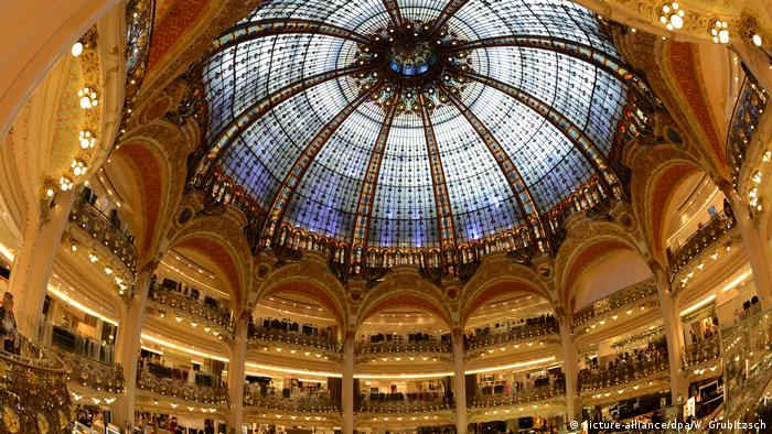 France Paris - the dome at Galeries Lafayette (picture-alliance/dpa/W. Grubitzsch)