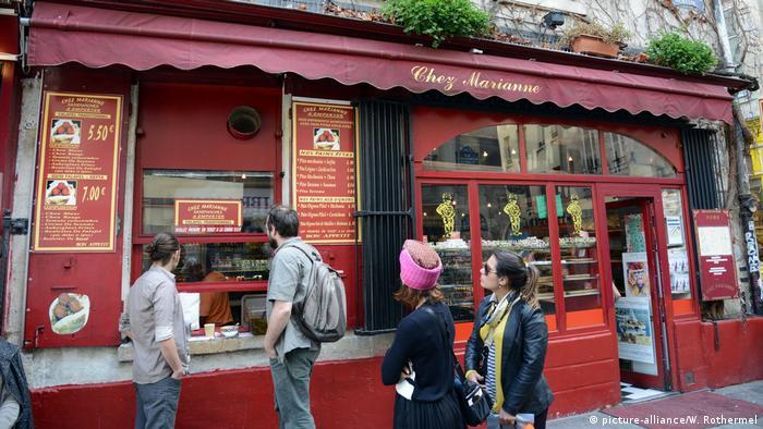 Restaurante Chez Marianne, em Marais, Paris