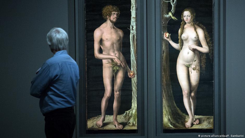 Адам и Ева. Лукас Кранах Старший, 1508/1510 год