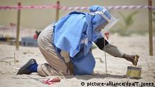Somalia Landminen