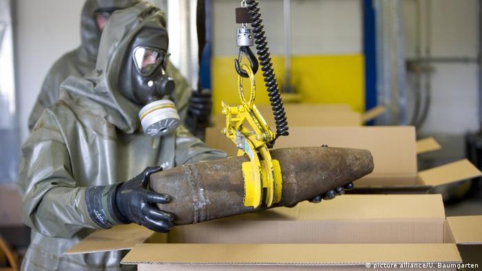 Gesellschaft zur Entsorgung von chemischen Kampfstoffen/Rüstungsaltlasten (GEKA) (picture alliance/U. Baumgarten)