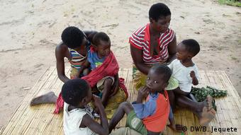Mosambik Flüchtlinge in Vanduzi