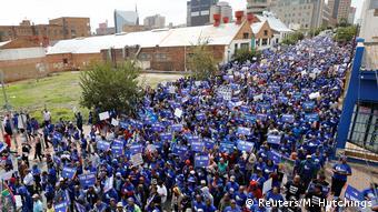 Südafrika Proteste gegen Präsident Zuma