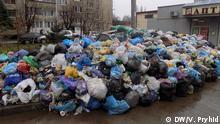 Wilde Müllhalde in Lwiw Ukraine