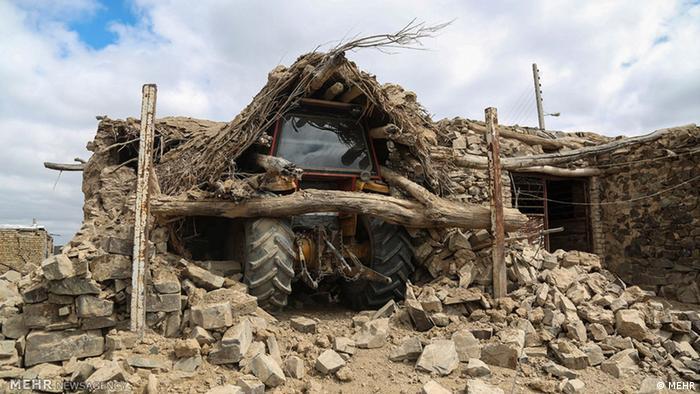 Iran Erdbeben (MEHR)