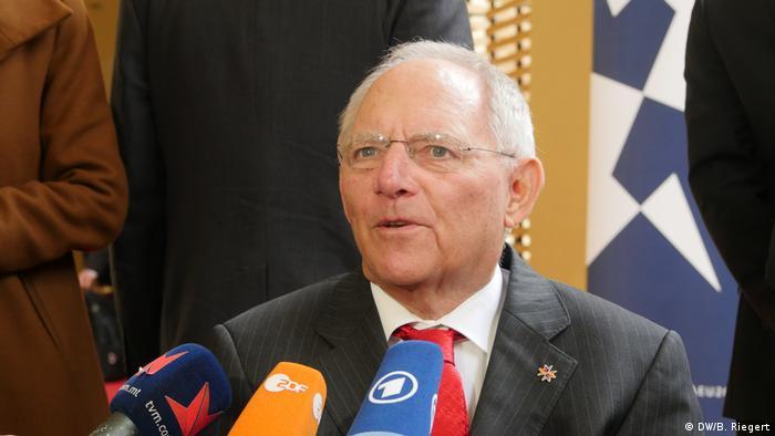 Malta - Bundesfinanzminister Wolfgang Schäuble (DW/B. Riegert)