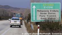Griechenland Bauerprotest auf der Grenze