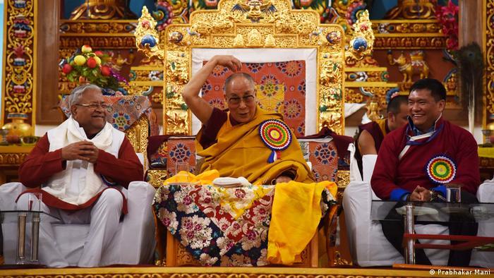 Indien - Der Dalai Lama besucht Arunachal Pradesh (Prabhakar Mani)
