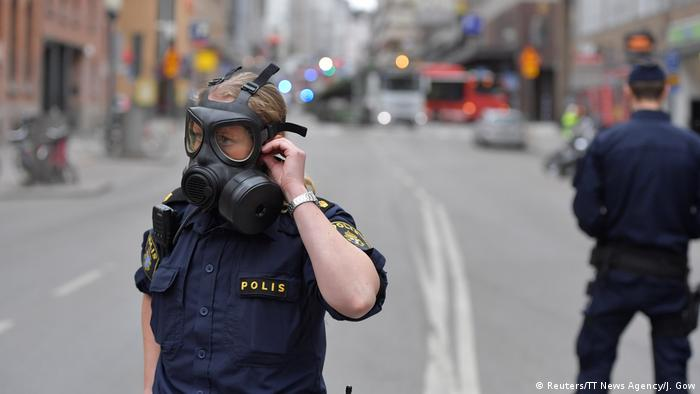 Schweden Stockholm LKW fährt in Menschenmenge (Reuters/TT News Agency/J. Gow)