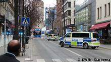Schweden Stockholm LKW fährt in Menschenmenge - DW-Bild