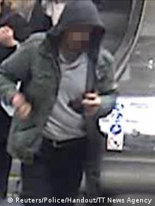 Schweden Bild vom Verdächtiger des Attentats in Stockholm (Reuters/Police/Handout/TT News Agency)