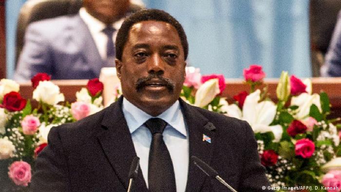 DRC President Joseph Kabila Getty ImagesAFPJ D Kannah