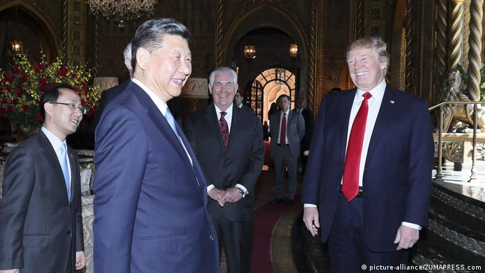 Donald Trump und Xi Jinping (picture-alliance/ZUMAPRESS.com)