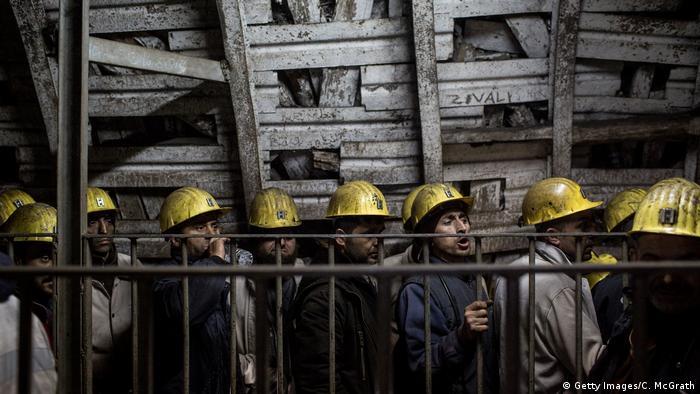 Türkei Bergarbeiter (Getty Images/C. McGrath)