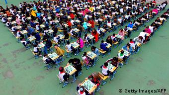 China Schule Schachwettbewerb (Getty Images/AFP)