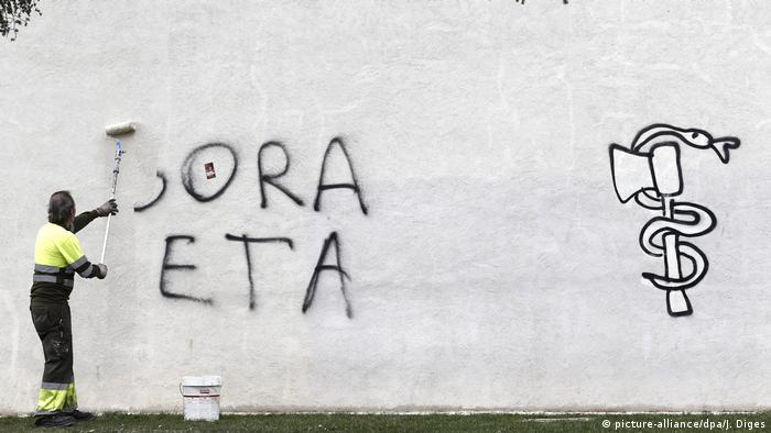 ETA Graffiti (picture-alliance/dpa/J. Diges)