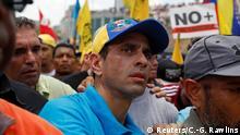 Venezuela vor Zerreißprobe   Opposition und Polizei geraten aneinander