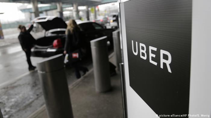 Uber car (picture-alliance/AP Photo/S. Wenig)