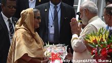 Indien Bangladeschs Premierministerin Sheikh Hasina besucht Narendra Modi