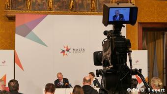 Malta PK Wolfgang Schäuble (DW/B. Riegert)