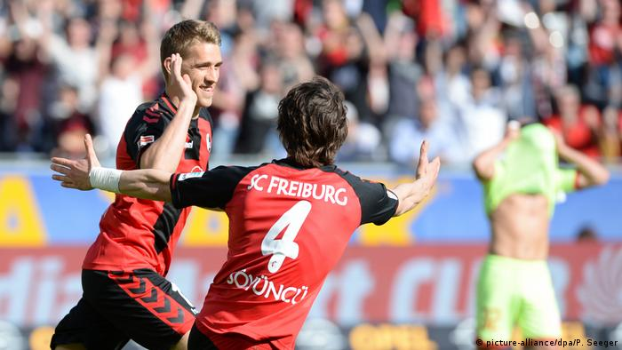 Bundesliga SC Freiburg - FSV Mainz 05 Petersen (picture-alliance/dpa/P. Seeger)