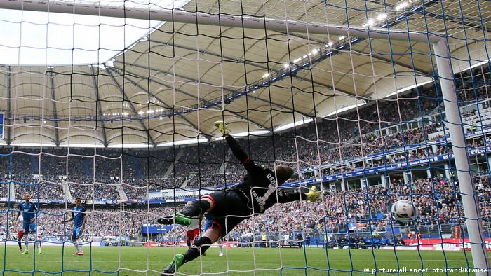Bundesliga Hamburger SV - 1899 Hoffenheim 2:1 (picture-alliance/Fotostand/Krause)