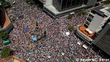 Venezuela Caracas Pro Capriles Massenproteste