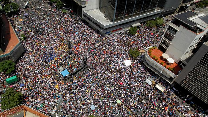 Вуличні протести у Каракасі, 8 квітня 2017 року