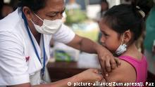 Kolumbien Schlammlawine in Mocoa Notunterkunft