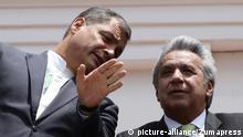 Ecuador Präsident Correa und Lenin Moreno