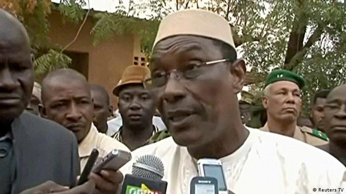 Videostill von Abdoulaye Idrissa Maiga Verteidigungsminister Mali