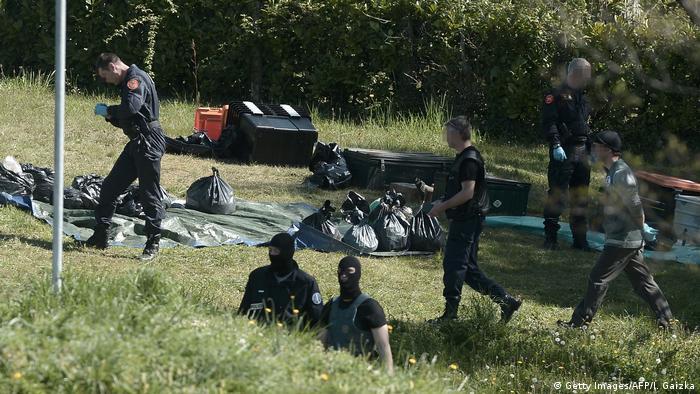 ETA Waffen Abgabe (Getty Images/AFP/I. Gaizka)