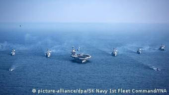 USA Südkorea Marineübung (picture-alliance/dpa/SK Navy 1st Fleet Command/YNA)
