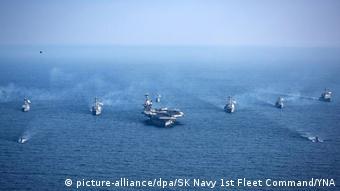 USA Südkorea Marineübung