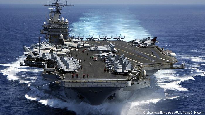 Flugzeugträger USS Carl Vinson (picture-alliance/dpa/U.S. Navy/D. Howell)