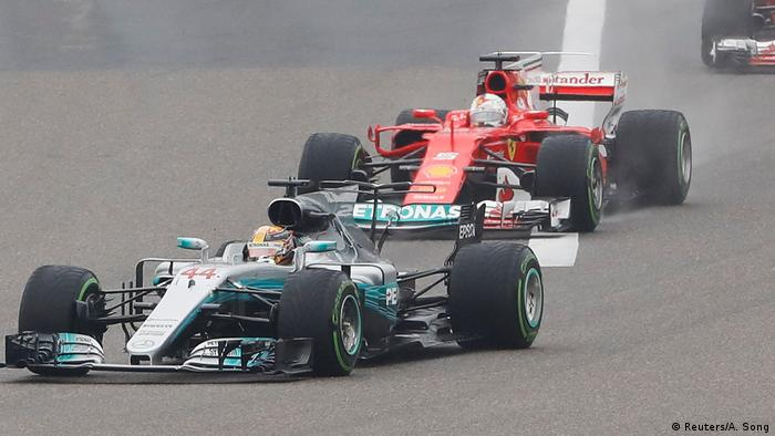 China Formel 1 | Lewis Hamilton (Reuters/A. Song)