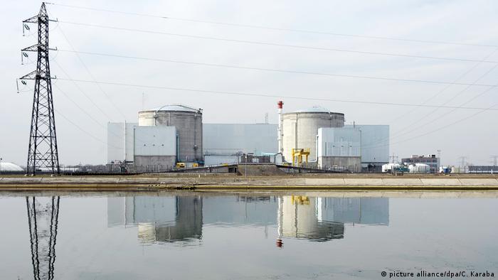 France's nuclear power plant at Fessenheim