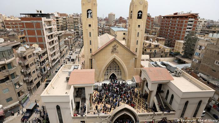Ägypten nach Anschlag auf Kirche inTanta (Reuters/M. Abd el Ghany)